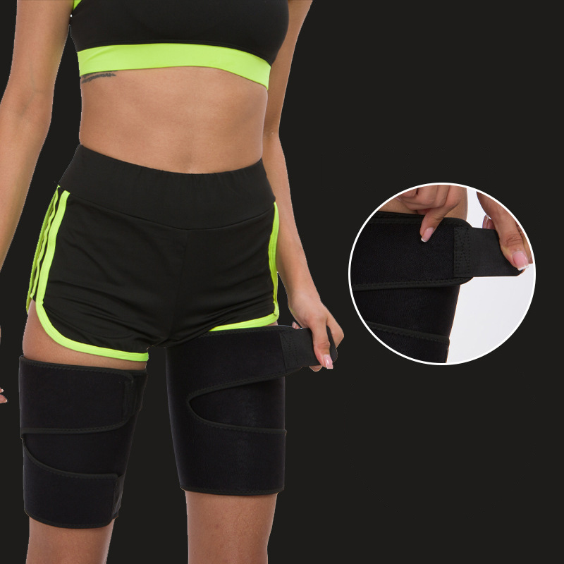 Facecozy 2 pieces Sports Slimming Thigh Compression Support Women Fitness Mountaineering Running Muscle Leg Compression Surport