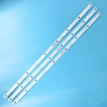 620 milímetros tira conduzida Luz de Fundo lâmpada Para lb-pf3030-GJD2P53153X7AHV2-D 7 B 32pht410 1/60 32lj500v 32pht4132 1/12 32PHT4201