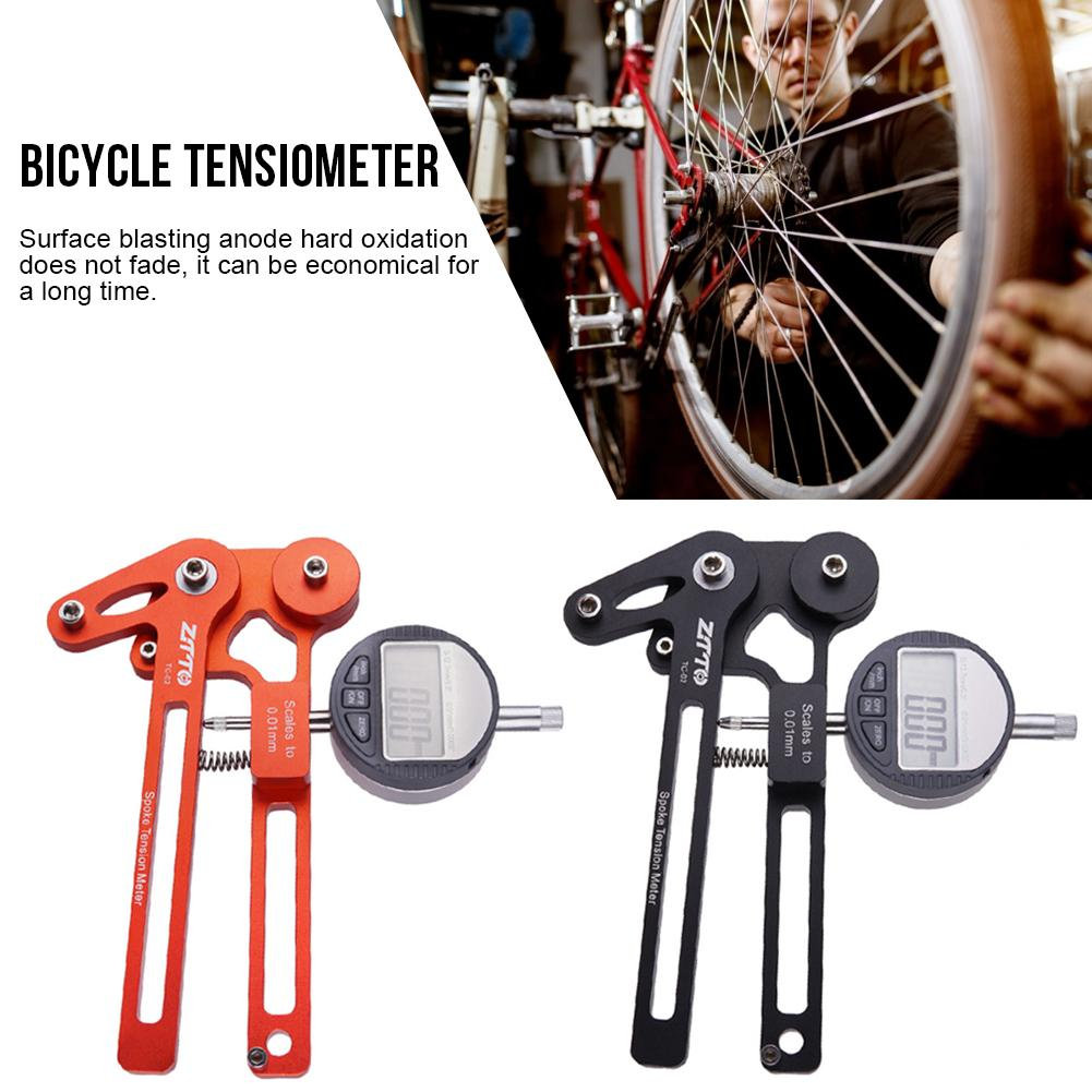 MTB Bicycle Tool Spoke Tension Meter Electronic Watch Wire Tension Adjustment Wheel Set Correction Rim Adjustment Tool image