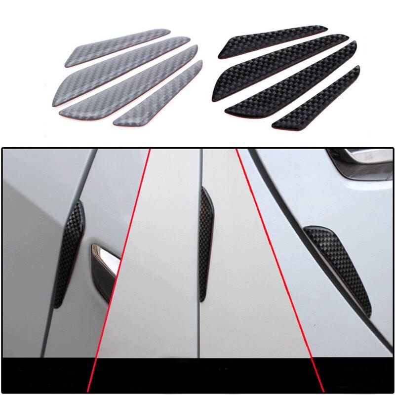 Protector Protection Strip Trim Molding Car Door Edge Guard Carbon Fiber