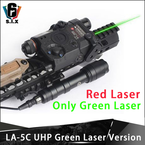 airsoft tatico peq 15 la 5c uhp lanterna com interruptor remoto so versao laser verde