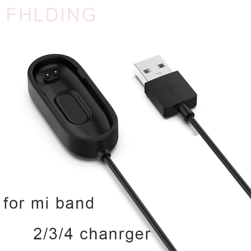 For Xiaomi Mi Band 4 USB Charging Dock Cable Replacement Cord Charger Adapter For Mi Band 2 3 4 Smart Wristband Accessories