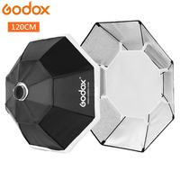 Godox 120cm 47 Octagon Softbox Flash Speedlite Studio Photo Light Soft Box with Bowens mount DE300 DE400 SK300 SK400 QT600