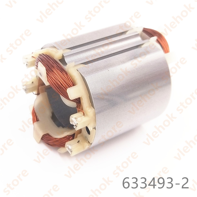 220-240V Field Stator For MAKITA HR2450A HR2450T HR2440 HR2440F HR2450 HR2450FT HR2450F HR2432 HR2020 HR2021 633488-5 633493-2