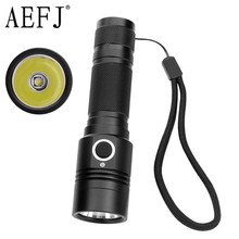AEFJ LED Flashlight 18650 XML-T6 High Power 1100lm Lamp Torch Light Powerful Waterproof camp cycle sitemap 33 xml