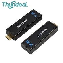 W2H Nano HDMI Wireless Extender 1080P 3D 7,1 HD Audio Video Aluminium HDMI Verlängern Sender 30m 100FT Wireless sender Empfänger