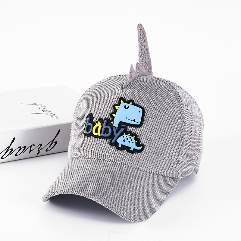 H4e682201369640f58d0606e298c1b27ea - Spring Autumn Baby Baseball Cap Cartoon Dinosaur Baby Boys Caps Fashion Toddler Infant Hat Children Kids Baseball Cap