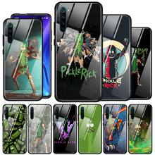 Rick And Morty Pickle Rick Tempered Glass Phone Case For Xiaomi Redmi 7 8A K20 K30 Note 9S 6 7 8 8T Note 9 Pro Max Cover Couqe tempered glass case for xiaomi redmi note 9s 6 7 8 8t 9 pro max redmi 7 8a k20 k30 pro couqe cover dragon ball z tattoo