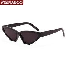 Peekaboo black women sunglasses cat eye fashion accessories