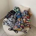 Модные Портативные Сумки на шнурке  женские сумки для обуви  женские хлопковые дорожные сумки  сумка для хранения одежды  высококачественны...