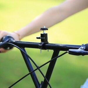 Image 4 - 1/4 Camera DV DSLR Bike Bicycle Handlebar Clamp Bracket Tripod Mount Screw Clip For Camera DV for Gopro