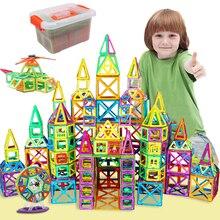 2020 mały rozmiar bloki magnetyczne układanki magnetyczne budynki zestaw zabawek magnes edukacyjne zabawki dla dzieci prezent dla dzieci