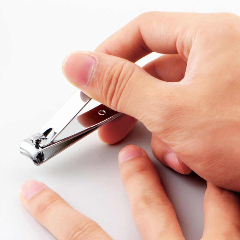 ビッグサイズ 8 センチメートルステンレス鋼のフラット口の爪クリッパーネイル切断機プロトリマー足ネイルクリッパー爪ツール