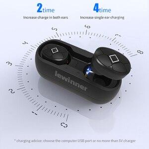 Image 3 - Lewinner V5 TWS سماعات لاسلكية مقاوم للماء HiFi سماعة بلوتوث 5.0 سماعات الأذن إلغاء الضوضاء سماعة الألعاب ل هاتف ذكي