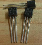 Free Delivery. MCR100-3 MCR100 triode TO <font><b>1</b></font> a <font><b>400</b></font> <font><b>v</b></font> - 92 one-way thyristor image