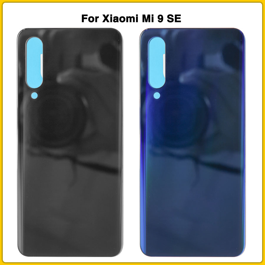 New For <font><b>Xiaomi</b></font> mi9 SE Housing Case For <font><b>Xiaomi</b></font> <font><b>mi</b></font> <font><b>9</b></font> SE <font><b>Battery</b></font> <font><b>Cover</b></font> Door Rear Back <font><b>Cover</b></font> Panel With Sticker image