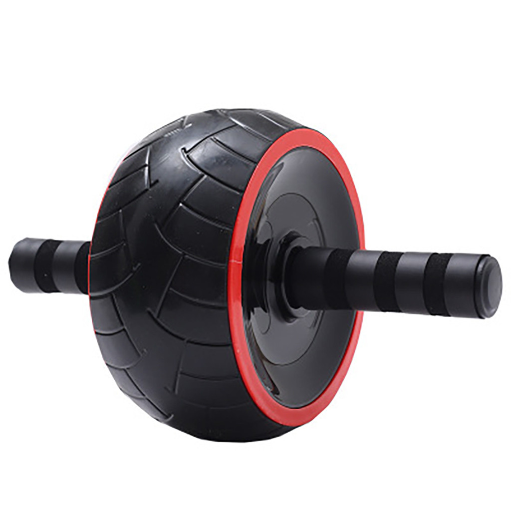 One Wheeled Abs Rollers as Training Equipment with Comfortable Grip for Abdominal Exercise in Home and Gym