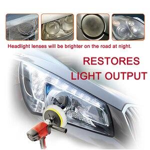 Image 4 - LUDUO, налобный фонарь, аксессуары для восстановления фар, для полировки, ремонта, ремонта, отбеливания, ремонта, осветления, с тканью