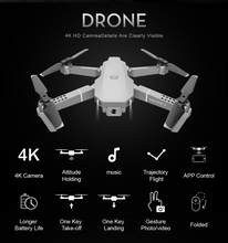 HD Wide Angle 4K WIFI 1080P FPV E68 Drone Video Live Recording Quadcopter Height To Maintain Remote Control Aircraft Toy Hot(China)