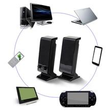 Многофункциональные компьютерные колонки, ноутбук, музыкальный плеер, 3 вт, пк, двойной трек, портативный, проводной, USB, регулятор громкости, мини, 3,5 мм разъем