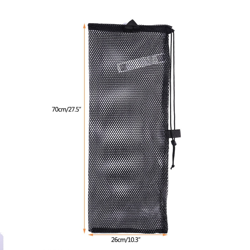 Quick Dry Polyester Mesh Bag  Swimming Diving Drawstring Bag Water Sports Snorkelling Packing Net Bags