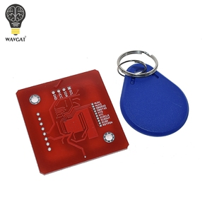Беспроводной модуль NFC RFID PN532, 1 комплект, V3, пользовательские комплекты, режим чтения, IC, S50, карта PCB, Attenna, I2C, IIC, SPI, HSU для Arduino, WAVGAT