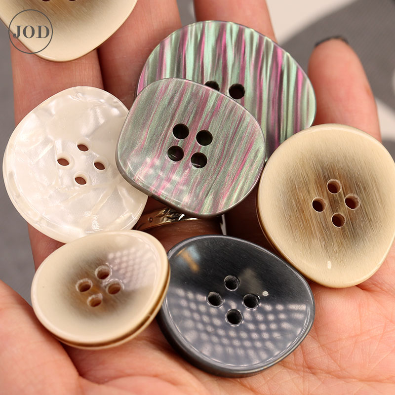 Pearl Plastic Buttons for Clothing Women Wear Suit Decorative Coat Sewing Button Accessories Garment DIY Stripe Resin China Buttons    - AliExpress