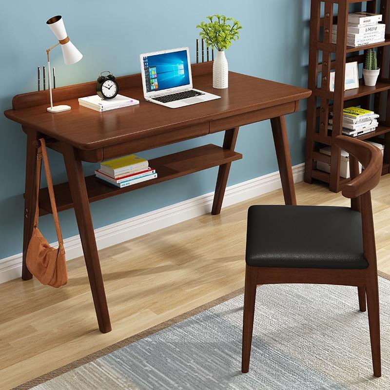 Solid Wood Desk Home Student Writing Desk Simple Desktop Computer Desk Economical Simple Desk Desk Computer Table