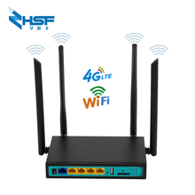 4G LTE industrial router 300Mbps Wifi router 3G / 4G wireless CPE router 4ports with SIM card slot 32 users 4 external antennas yf325 industrial dual sim 4g lte wifi router with sim card slot good for m2m iot
