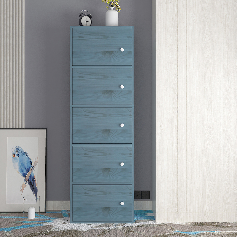 Nordic contracted fashion simple bookcase with the door locker receive ark free units locker little cupboard