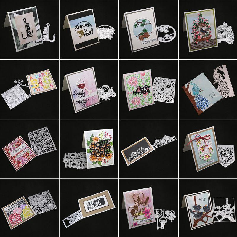 Metal Cutting Dies Stencil Scrapbook Embossing Decor Card Album Paper Craft DIY