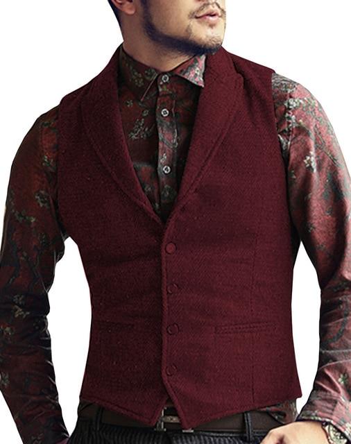 Mens-Suit-Vest-Lapel-V-Neck-Wool-Herringbone-Casual-Formal-Business-Vest-Waistcoat-Groomman-For-Wedding.jpg_640x640 (5)