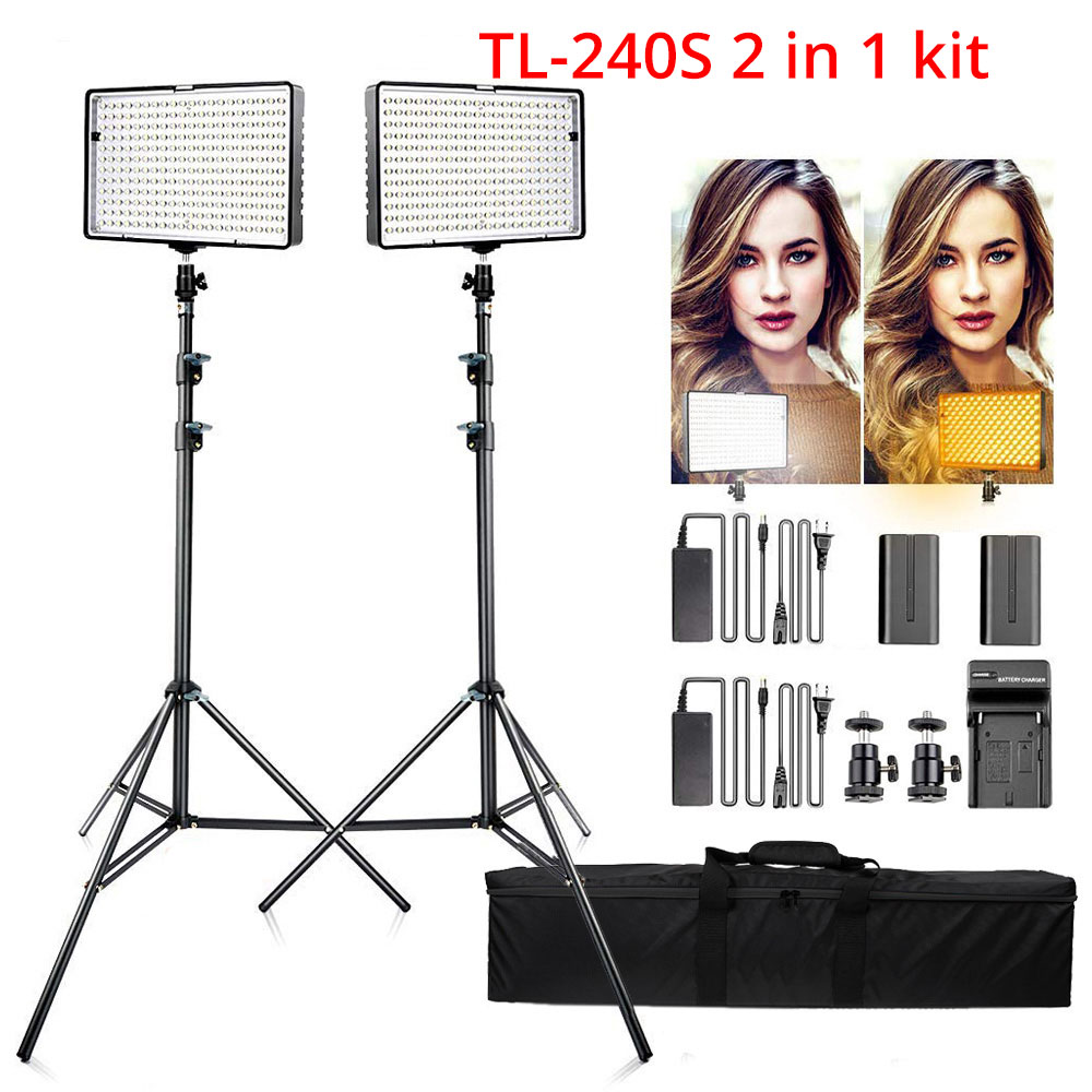 Ring Light LED Video Light Lamp with Tripod Stand 8
