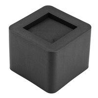 4Pcs/Set Furniture Leg Risers PP Plastic Non Slip Riser For Table Chair Desk Bed Sofa Furniture Accessories Riser Black Color