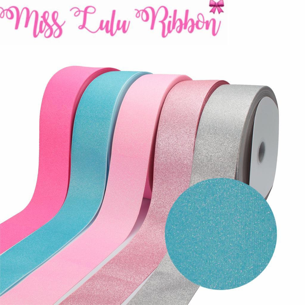 1 M sirène échelle Princess Cartoon Gros-grain Ribbon Hair Bow Gâteau Fête Rose