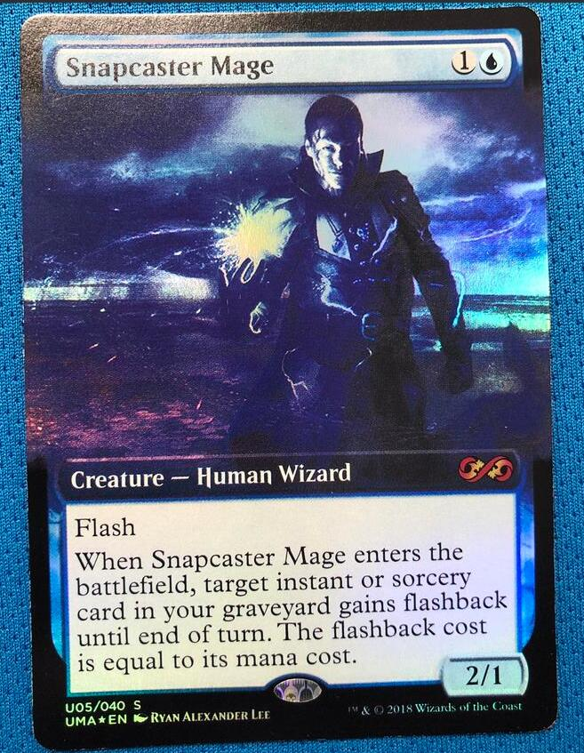 Snapcaster Mage PUMA Foil Magician ProxyKing 8.0 VIP The Proxy Cards To Gathering Every Single Mg Card.
