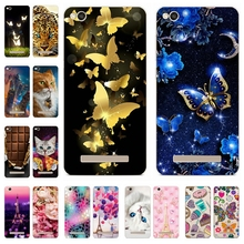 "Phone Case for Xiaomi Redmi 4a Case 5.0"" Cute Silicon Soft TPU Back Cover Painted Shell for Xiomi Redmi 4a Bumper fundas Capa"