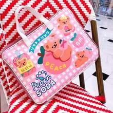 Bentoy milkjoy симпатичный медведь сумка для ноутбука 12 135