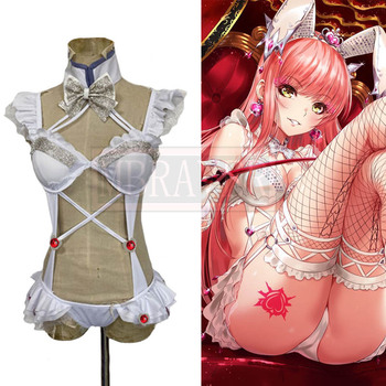 Fate/Grand Order FGO Medb Sexy Swimsuit Uniform Halloween Carnival Birthday Party Cosplay Costume Custom Made Any Size image
