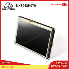 Nextion Enhanced NX8048K070   7.0 HMI Touch Display USART TFT LCD Module Resistive Touch TTL/5V Display