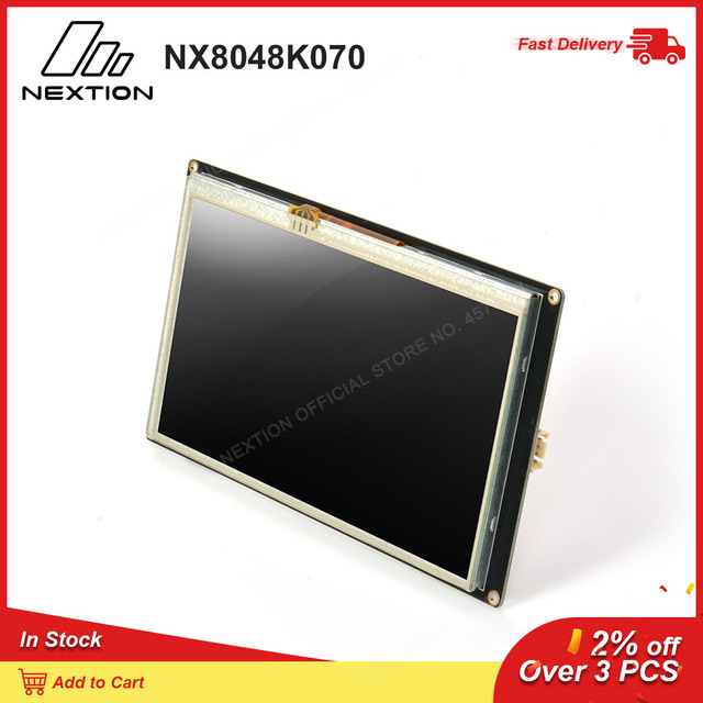 Nextion強化NX8048K070 7.0 hmiタッチディスプレイusart tft液晶モジュール抵抗タッチttl/5表示