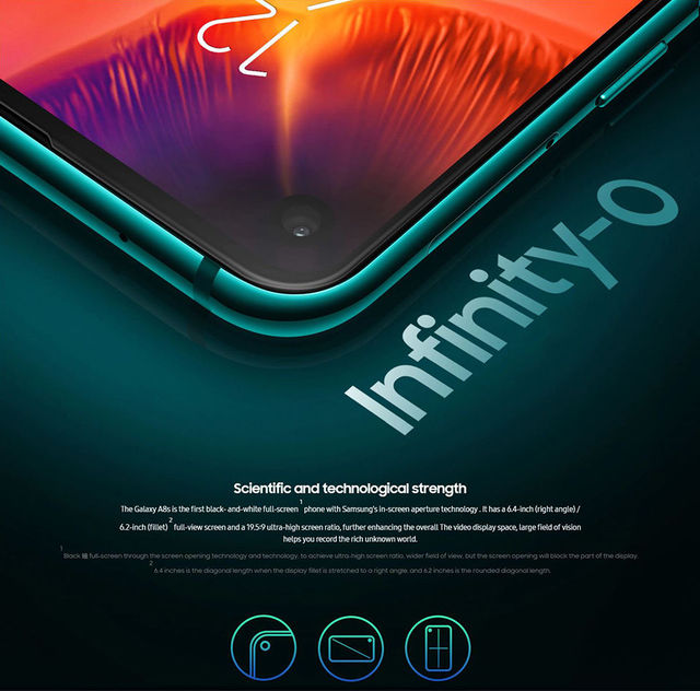 Samsung Galaxy A8s 710 Otca core 6GB 128GB