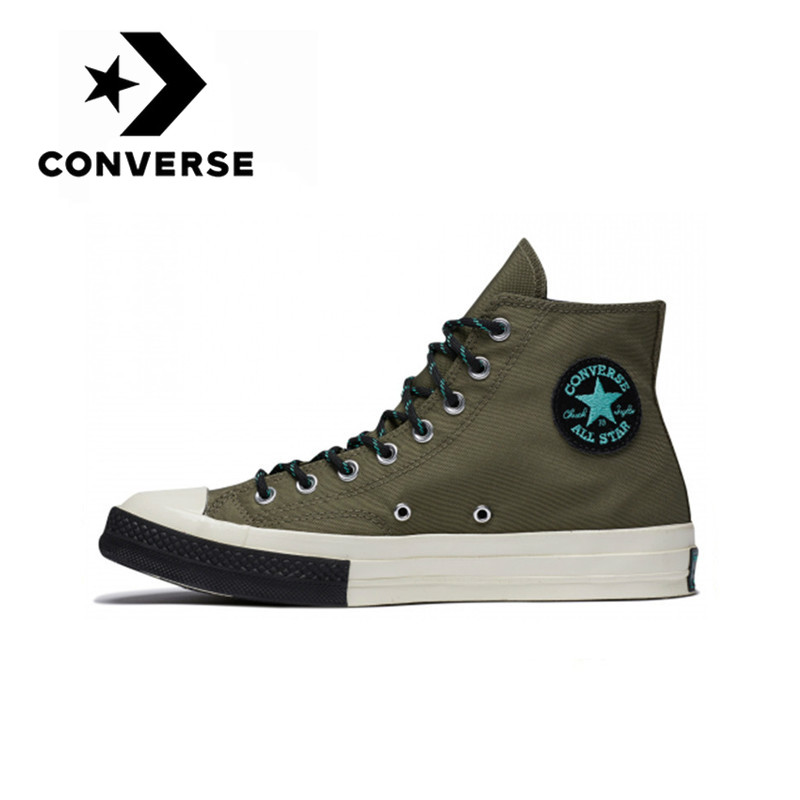 Converse Chuck Taylor All Star 70 Neutral <font><b>Skateboarding</b></font> <font><b>Shoes</b></font> Men and Women Casual Sneakers Retro High Flat Good Quality 161481C image