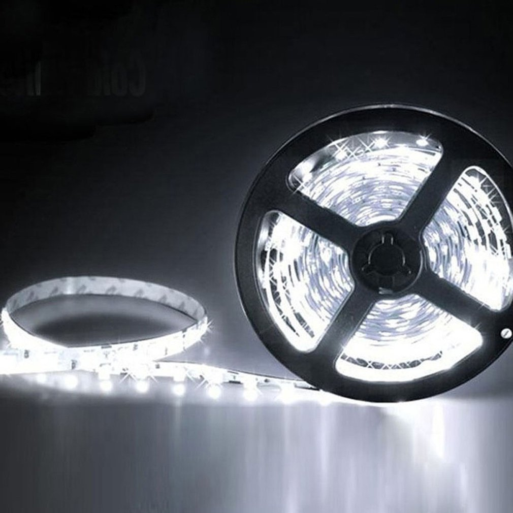 LED Strip Light Home Decoration 5M 300 LED Waterproof Flexible Warm Cool White Strip Light