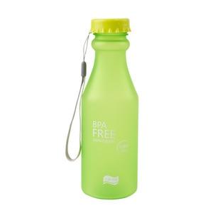 Image 2 - Candy Farben Wasser Flasche Unzerbrechlich Frosted Kunststoff wasserkocher Kostenloser Tragbare Wasser Flasche für Reise Yoga Lauf Camping