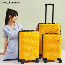 Luggage-Bag Case Travel-Suitcase Kids Trolley Cabin On-Wheels Carry ABS 20inch PC Honeycomb