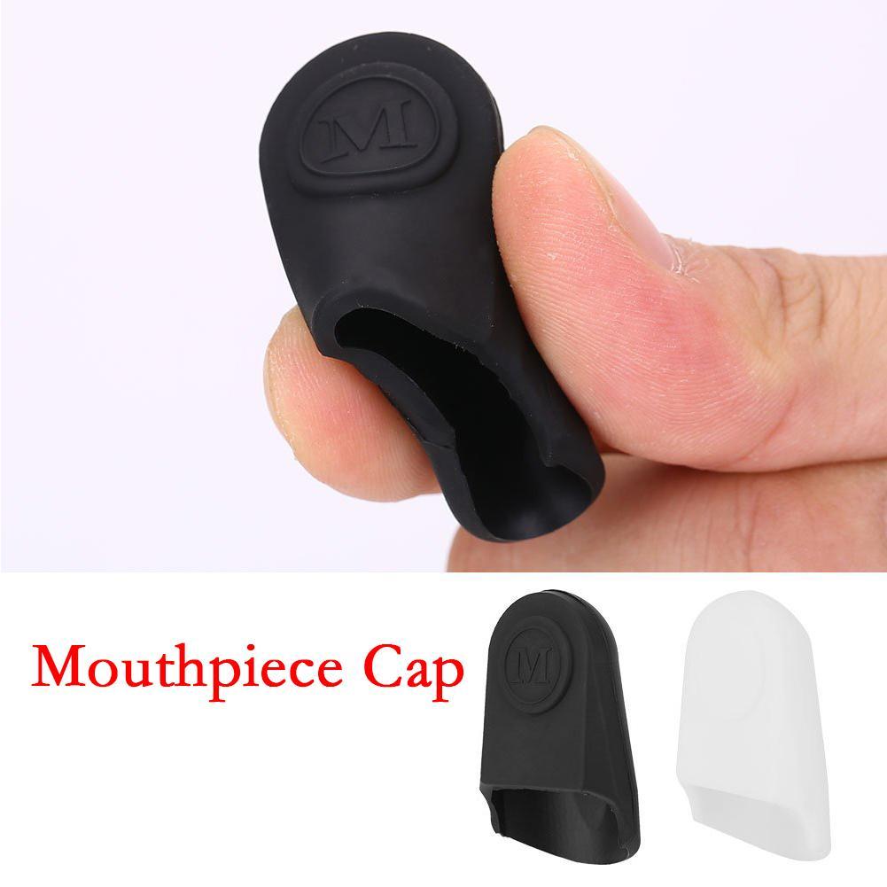 Rubber Clarinet Saxophone Mouthpiece Cap Protect Delicate Tip For Alto Tenor Soprano Sax Mouth