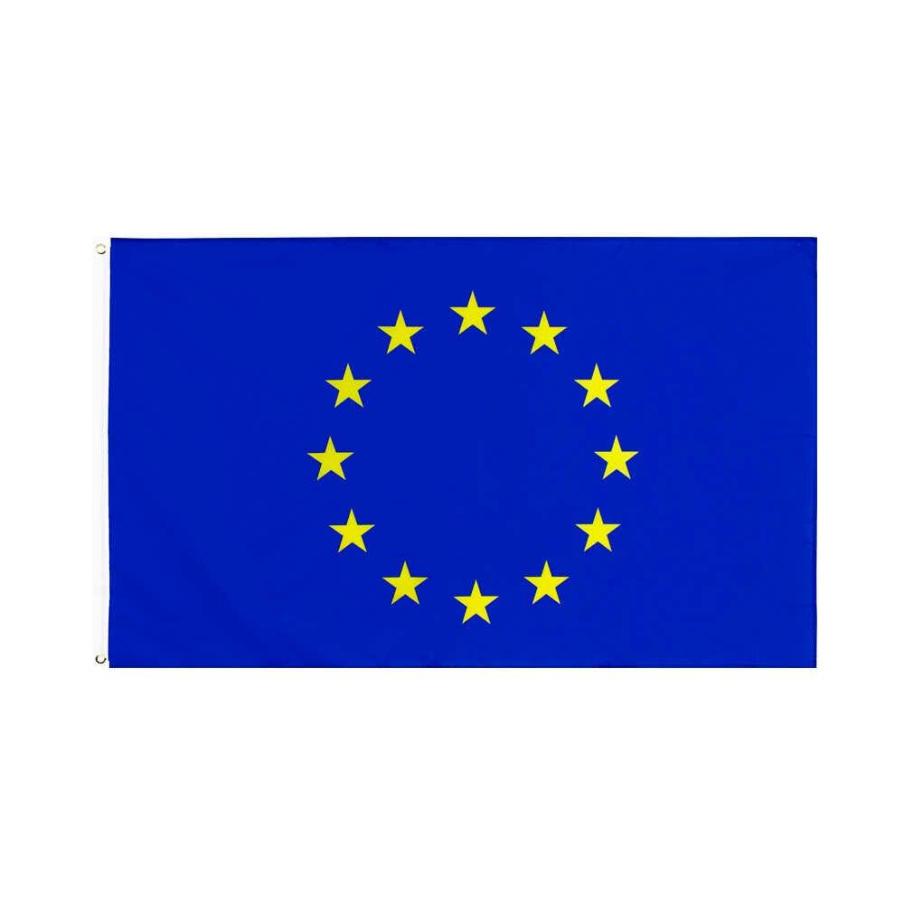 ヨーロッパ連合旗xiangying 90 × 150センチメートルeuヨーロッパ ...