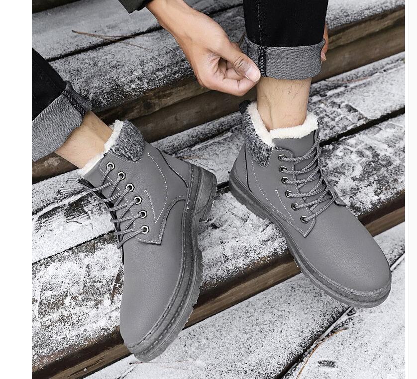 homens botas de tornozelo moda quente dos