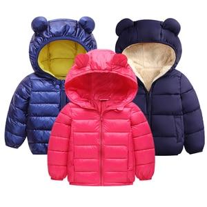 Bebê crianças jaqueta 2020 outono jaquetas de inverno para meninos meninas jaqueta com capuz outerwear casacos para meninas blusão crianças roupas